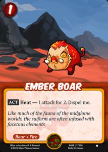 Ember Boar